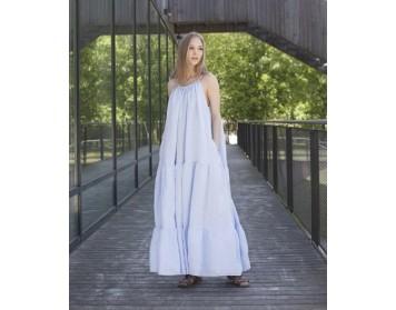 Lininės suknelės - ne tik gražus, bet ir vienas universaliausių vasaros drabužių