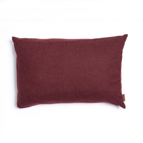 LIMA bordo spalvos pagalvėlė