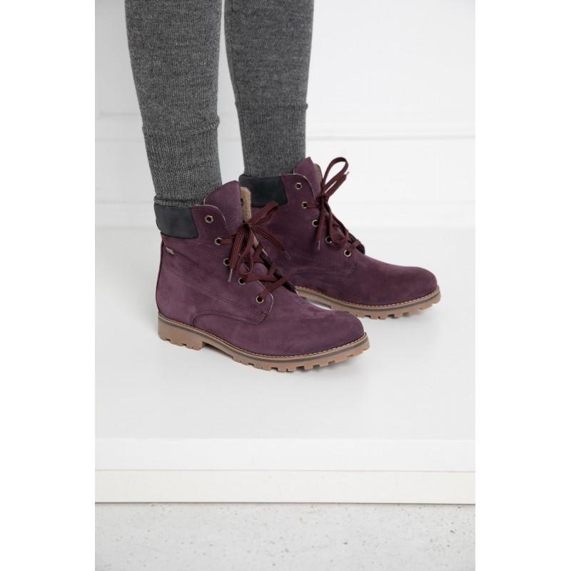 Alyvinės spalvos batai Huaraz