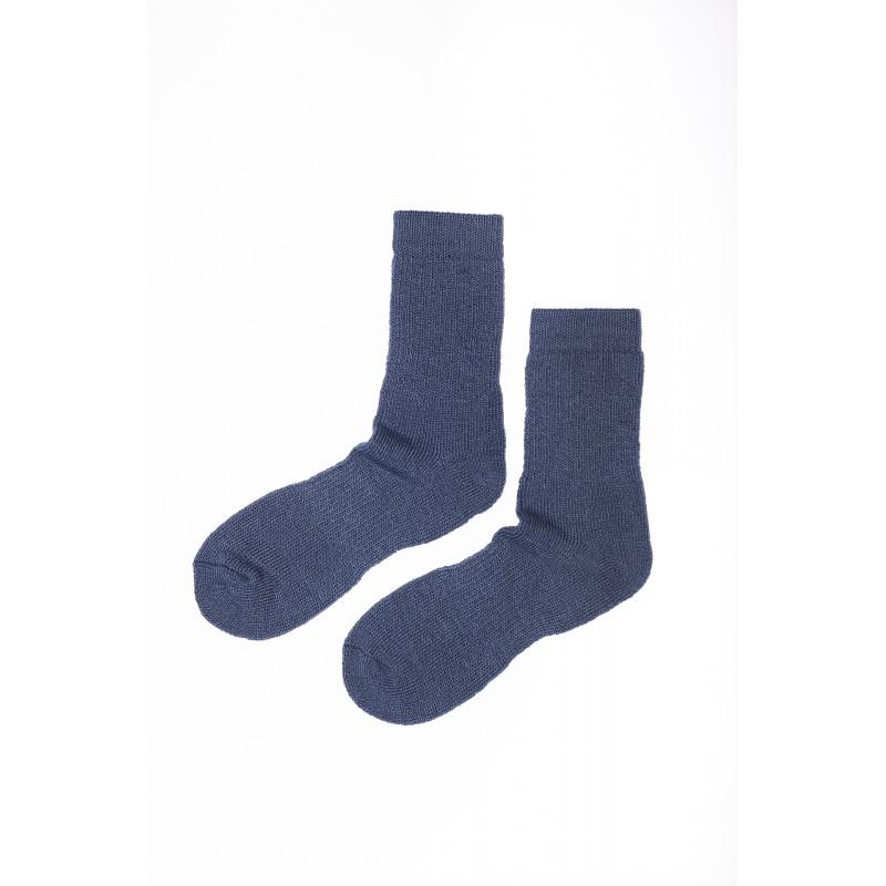 Mėlynos spalvos kojinės