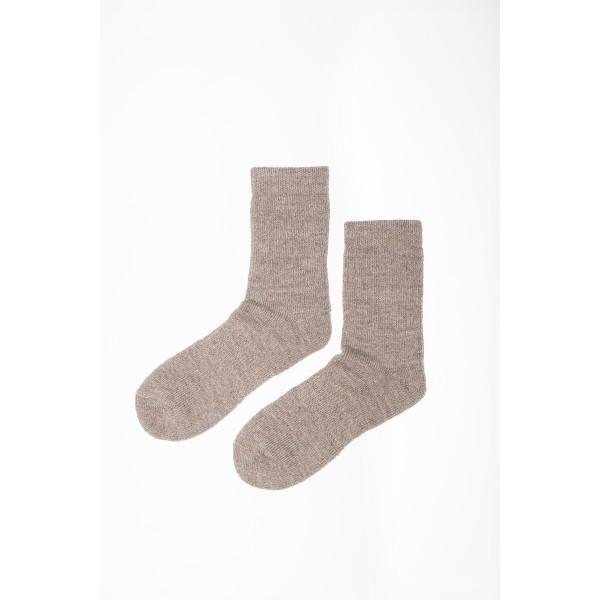 Smėlio spalvos kojinės