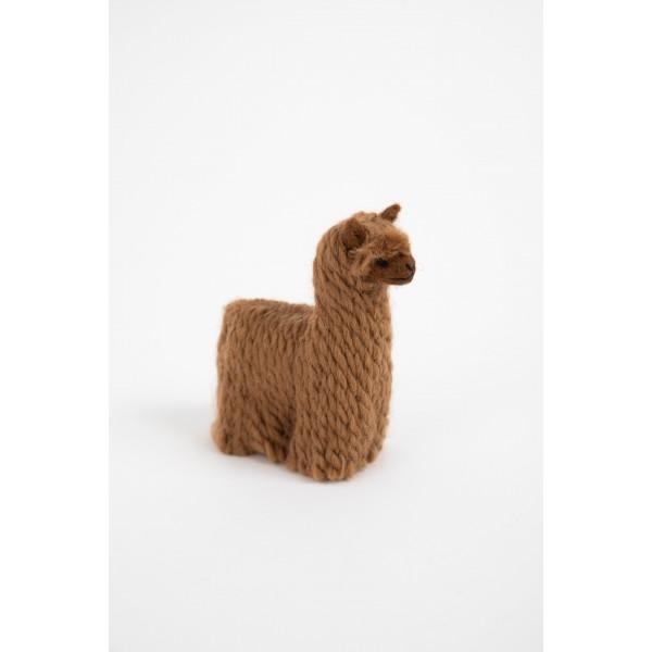Alpakiukas ALPO - natūralus veltinis žaislas vaikui