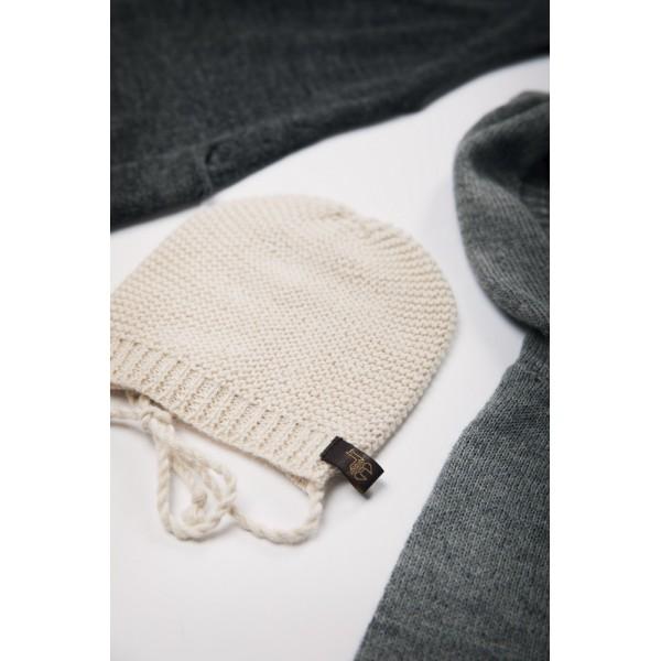 Alpakos vilnos kepurė kūdikiui