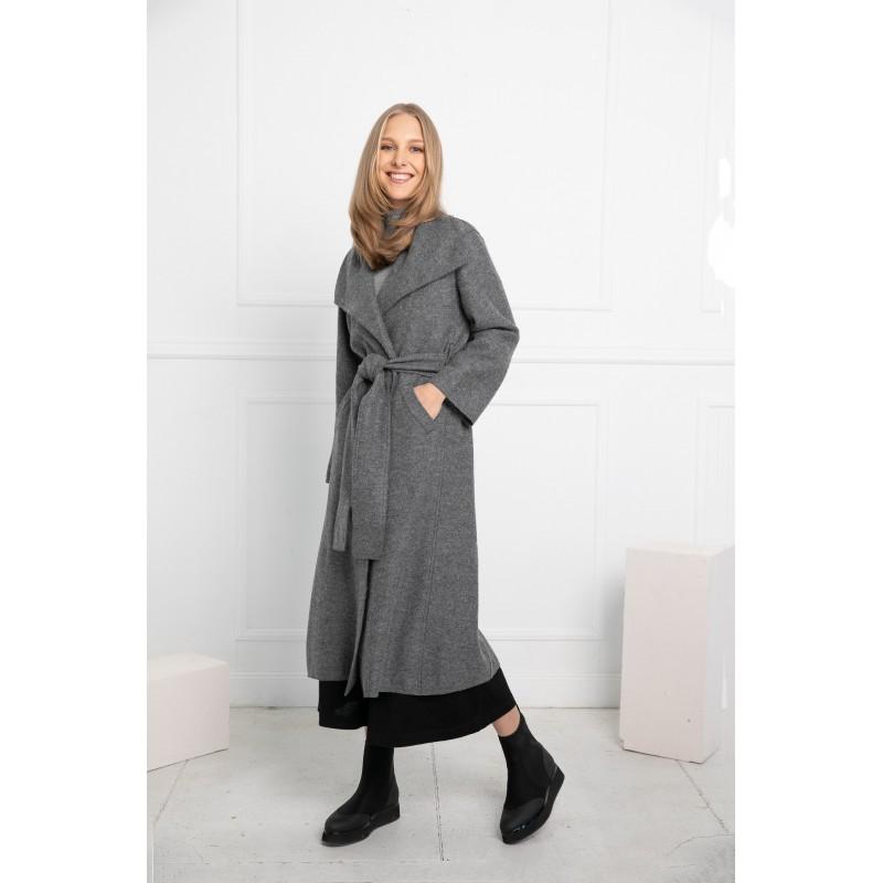 Dailusis paltas -apsiaustas Camilla, pilkos spalvos