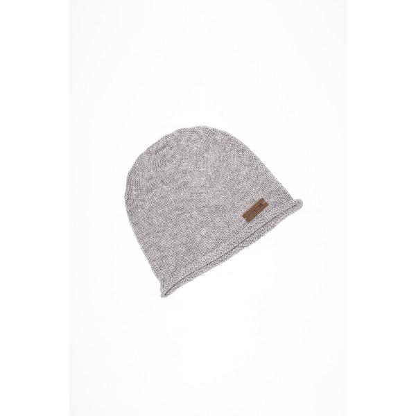Pilkos  spalvos kepurė kūdikiui