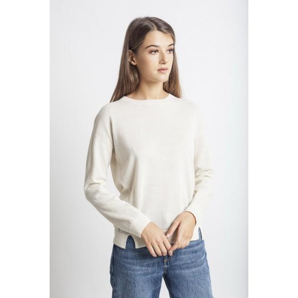Megztinis Piura, baltos spalvos